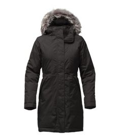When there's a frigid chill in the air, cozy up to this insulated winter coat that combines a waterproof, breathable HyVent 2L exterior with thermal 550-fill down insulation to create a resilient barrier against winter snowstorms. Removable insulated hood features (zip-off) faux-fur trim for a cozy touch. Quilted taffeta lining offers next-to-skin comfort and ease of dress.