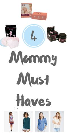 4 Mommy Must Haves - these are all SO helpful for new mommys! Le Tote lets you…