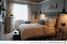 15 Pallet Ideas for Beds and Headboards | Home Design Lover