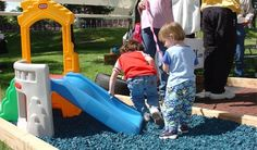 Rubber Mulch and Playground Rubber Mulch in 7 Colors direct from the Manufacturer. Rubber mulch installation tips, how to videos, and mulch comparisons. Playground Rubber Mulch, Backyard Playground, Playground Ideas, Kid Friendly Backyard, Wood Mulch, Safety Tips, Modern Design, Playgrounds, Cleaning
