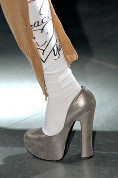 Vivienne Westwood, silver heels