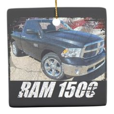 2014 Ram 1500 Regular Cab Lone Star Ceramic Ornament