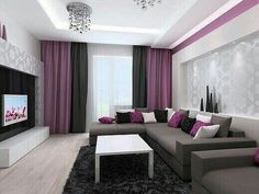 Modern living room designs can be very different. The modern living room designs personify your sense of comfort and coziness, giving pleas. Living Room Tv, Living Room Interior, Apartment Living, Living Room Modern, Living Room Designs, Small Living, Cozy Living, Living Room Turquoise, Interior Design