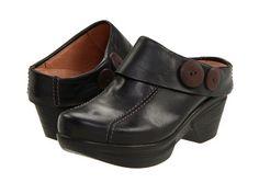 1c2c3d5eac2f Sanita Nikolette Black Waxy Leather - Zappos.com Free Shipping BOTH Ways  Clogs Shoes