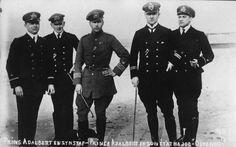 Prince Adalbert of Prussia son of Wilhelm II seen in Ostend