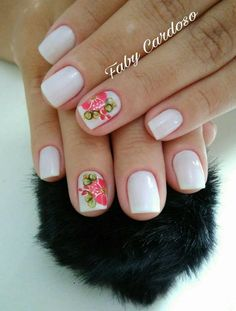 Machine learning meets trending news, viral videos, funny gifs, and so much more. Fingernail Designs, Nail Art Designs, Cute Animal Photos, Manicure E Pedicure, Gorgeous Nails, Nail Polish, Beauty, Beautiful, Zero