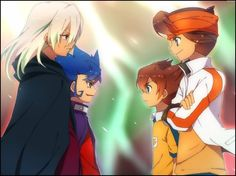Inazuma eleven go FAce Off by on DeviantArt Victor Blade, Galaxy Movie, Galaxy Painting, Inazuma Eleven Go, Play Soccer, Face Off, Anime Characters, Fictional Characters, Manga