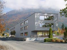 Ecole de la Servanne à Bex (CH) Lausanne, Ferrari, Mansions, House Styles, Home Decor, Urban Planning, Architects, Urban, Decoration Home