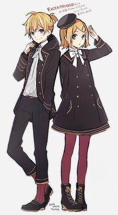 Kagamine Len and Kagamine Rin