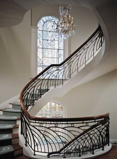 Stair case to comfort...