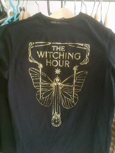 THE WITCHING HOUR by AVANTEHERMETICO on Etsy, €10.00
