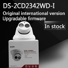 In stock DHL free shipping DS-2CD2342WD-I English version 4MP CCTV camera EXIR CCTV Camera 120dB WDR p2p ip camera POE H.264+