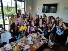 July's Wonderful World of Disney brunch was held at Brim Kitchen and Brewery. Everyone was encouraged to dress in their favorite Disney attire. Some of us wore our favorite princess on a shirt or a cartoon character they loved from the Disney franchise. One of our member's even dressed as a Marvel character! (Lest we forgot Disney bought... Read More
