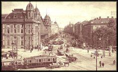 Budapest - Nyugati pályaudvar 1916 poszter