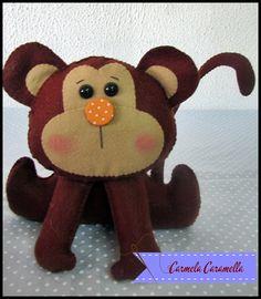 macaco feltro