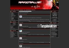 Phpfusion Themes - Soccer Football Phpfusion Theme #phpfusion #soccer #football #phpfusionthemes