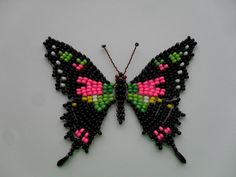 Butterflies - 4 | biser.info - all about beads and beaded works