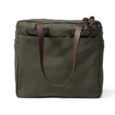 5a4af947abca0 Filson Tote Bag With Zipper