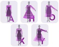 Der Figurtyp entschiedet, welche Kleider-Silhouetten Sie schlank aussehen lassen.