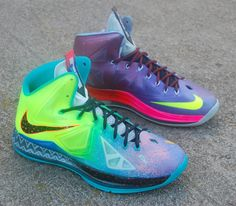 Nike LeBron X What the LeBron by JP Custom Kicks
