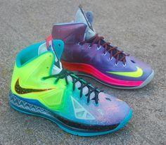 Nike LeBron X What the LeBron by JP Custom Kicks