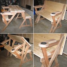 Compact folding picnic table  made by Reed                                                                                                                                                      More