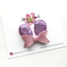 Bunny Ears Pink Bow