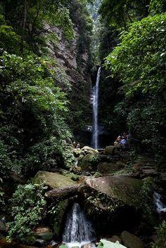 Cataracts Ahuashiyacu (Cataratas de Ahuashiyacu- Tarapoto - Peru)