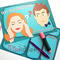 GRA na panieński Test Przedmałżeński NIEZBĘDNY! Gra, Party, Weddings, Fiesta Party, Bodas, Hochzeit, Wedding, Receptions, Parties
