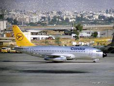 Condor Boeing 737-230 [D-ABHX], 1983 Athens Hellinikon airport