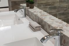 Stone, Tiles, Home Decor, Inspiration, Natural Stones, Beautiful Bathrooms, Bathroom Inspiration, Trendy Home