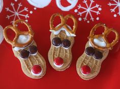 Simple reindeer cookies