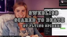 "A ""flying spider"" attacked me when I was live streaming.. I hate spiders!! lol  Please give me a Like My goal is 500! :D   Follow my Free Livestreams on twitch: www.swebliss.tv  Twitter: http://www.twitter.com/swebliss Facebook: http://ift.tt/1EgKmYd Instagram: http://ift.tt/1EgKlUm"