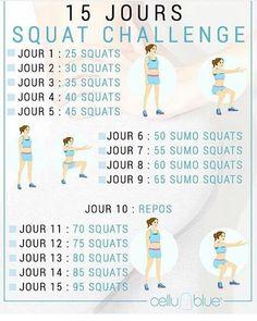 Quelqu'un de motivé pour le squat challenge de cellublue? Je le commence avec un jour de retard mais pleine de motivation! #cellubluesquatchallenge #cellublue