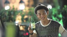Yoo Ah In : Making Movie of Chamisul 2nd (With Moon Chae Won)