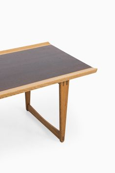 Rare coffee table designed by Yngve Ekström Produced by Westbergs in Tranås, Sweden Oak and dark stained teak Excellent vintage condition Mid century, Scandinavian Dimensions (W x D x H): 150 x 60 x 52 cm Price: 2000 € Item no: 13572 Nordic Furniture, Coffee Table Design, Furniture Manufacturers, Mid Century Furniture, Midcentury Modern, Teak, Scandinavian, Dining Table, Studio