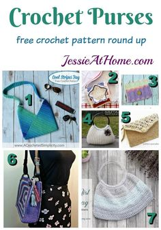 Crochet Purses Design Crochet purses are a great way to show off your hobby and your talent every day. There are so many options out there, so I have found 7 free crochet patterns for purses to get you started. Crochet Round, Knit Or Crochet, Crochet Hooks, Crochet Handbags, Crochet Purses, Crochet Bags, Crochet Purse Patterns, Crochet Shell Stitch, Crochet Fashion