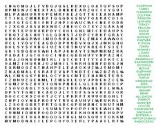 Very Hard Word Searches Printable | cynthia cynthia brings her own ...