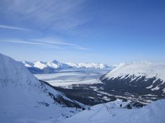 Alyeska, Girdwood, Alaska.  Alaska really is the last frontier with enough wilderness exploration to last a lifetime.  If you're brave enough for the trek north, Alyeska boasts some of the best riding on the planet.  Deep snow with solid snowpack and views that won't disappoint.
