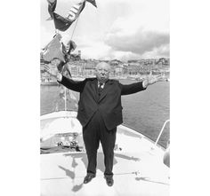 Alfred Hitchcock in Cannes
