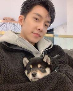 Shibu Inu: Netizens go 'AWWW' seeing how much Lee Seung Gi's puppy Perro has grown in half a year Lee Seung Gi, Joon Gi, Lee Joon, Drama Korea, Korean Drama, Playful Kiss, Handsome Korean Actors, Gu Family Books, Korean Star
