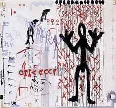 """'Ur-End"""" A. R. Penck, 1970"""