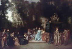 Daily artworks: • Watteau J-A