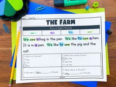 Our sight word passages are getting a boost! We have now added 50 more passages to this bundle! Your students will get to practice 100 sight words within text. As an added bonus, there are text specific comprehension questions with each passage. Help your students practice fluency and identify sight words by grabbing this sight word bundle today! Small Group Activities, Word Work Activities, Vocabulary Activities, Fluency Practice, Sight Word Practice, Sight Words, Reading Fluency, Reading Intervention, 2nd Grade Teacher