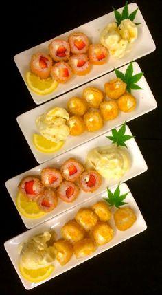 dessert sushi rolls Berry Berry and Mango Mango Ogden Utah restaurant Windy's Sukiyaki