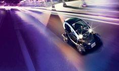 Entdecken Sie den Renault TWIZY, eine Mischung aus einem Roller und einem Zweisitz-Fahrzeug, das ideale kleine Elektrofahrzeug für die Stadt. Urban Electric, Electric Cars, Electric Vehicle, Diesel Cars, City Car, Article Design, Performance Cars, Urban Design