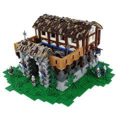 'Age Of Empires' Structures Spectacularly Recreated In LEGO Custom Lego Sets, Lego Age, Lego Kits, Lego Builder, Age Of Empires, Lego Castle, Lego Photography, Lego Models, Lego House