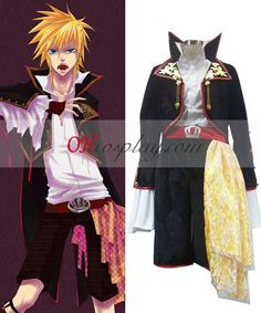 Vocaloid Sandplay Singing of The Dragon Len Cosplay Costume