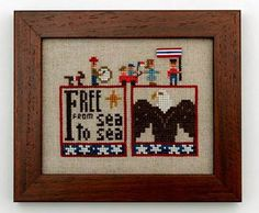 Double Up - Free With Embellishments - Cross Stitch Pattern