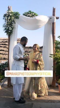 Mr and mrs hamza ali abbasi❤ Wedding Dress Men, Wedding Dresses For Girls, Wedding Pics, Dream Wedding, Wedding Photoshoot, Wedding Ideas, Pakistani Bridal Lehenga, Pakistani Wedding Outfits, Bridal Outfits